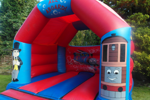 Thomas the tank Bouncy Castle large 12