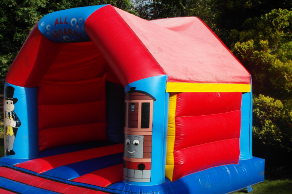 Thomas the tank Bouncy Castle large 2