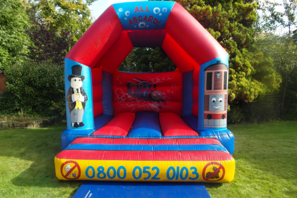 Thomas the tank Bouncy Castle large 3
