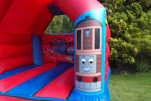 Thomas the tank Bouncy Castle large 8
