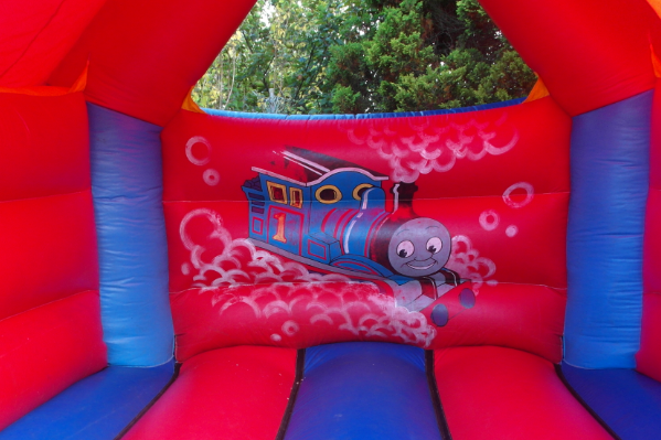 Thomas the tank Bouncy Castle large 9