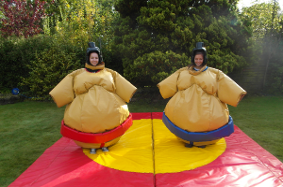 Sumo suits Birthday bouncers bouncy castle hire