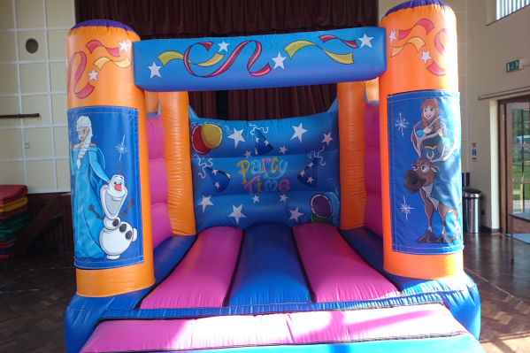 Frozen Bouncy Castle large 6