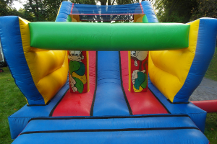 Jungle obstacle course front