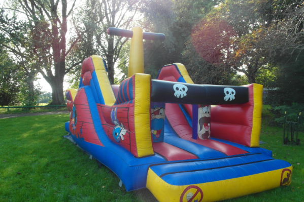 Pirate obstacle course front